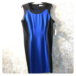 Calvin Klein size 14 NWT colorblock dress.